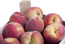 Free Detail Of A Crate Of Peaches Stock Images - 14927264