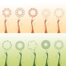 Free Floral Design Elements Stock Image - 14927691