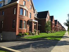 Free Town Homes Royalty Free Stock Images - 14927819
