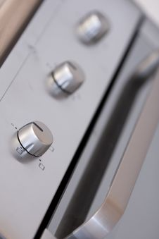 Oven Controls Stock Photography