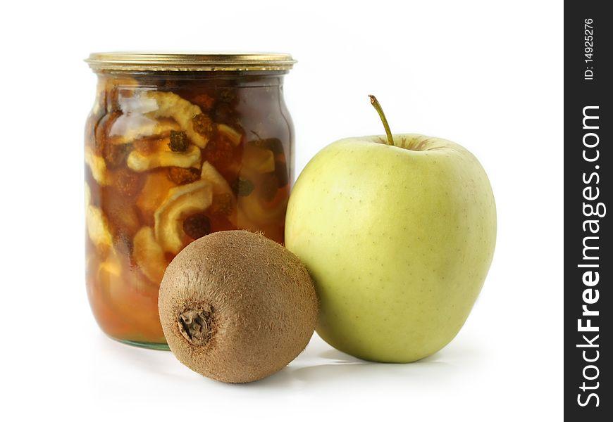 Apple Kiwi And Apple Jam Free Stock Images Photos 14925276 Stockfreeimages Com