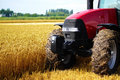 Free Tractor In Field Royalty Free Stock Image - 14933496