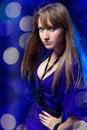 Free Dancing Girl. Stock Images - 14939414