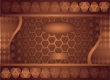 Free Chocolate Royal Baner Stock Photo - 14930520