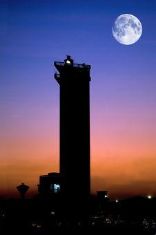 Free Marina Lighthouse Royalty Free Stock Images - 14930719