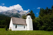 Free Church In Alps Royalty Free Stock Photography - 14930847