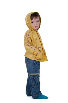 Free Child In Jacket Royalty Free Stock Photo - 14931075