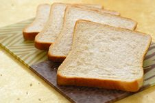 Free Four Slices Of Bread Royalty Free Stock Image - 14931136
