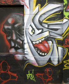 Free Graffiti On A Wall, Abstract Royalty Free Stock Photo - 14931435