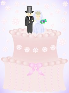 Free Wedding Cake Royalty Free Stock Photos - 14932018
