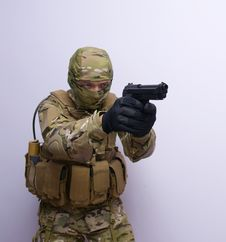 Free Commando Royalty Free Stock Photos - 14932268