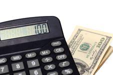 Free Desk Calculator Stock Images - 14932354