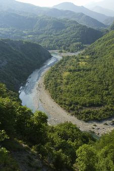 River Gorges Royalty Free Stock Image