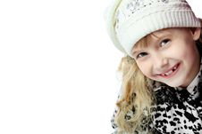 Free Girl In Cap Stock Photos - 14932853