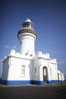 Lighthouse Whitewashed Stock Photos
