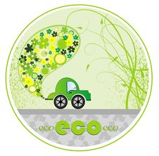 Free Eco Car Illustration Stock Photo - 14934710