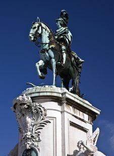 Free King José I Statue Royalty Free Stock Photo - 14934895