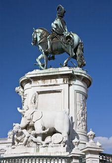 Free King José I Statue Royalty Free Stock Image - 14934906