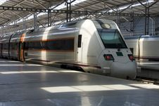 Free Central Railway Station Of Malaga Stock Photography - 14935662