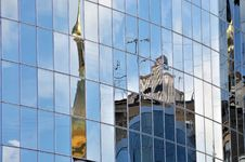 Free Mirroring Building In Kiev Stock Image - 14935671
