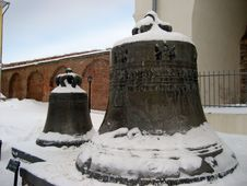 Novgorod Bell Stock Photo