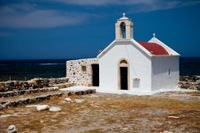 Free Greek Church Royalty Free Stock Image - 14937006