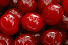 Free Cherry With Droplets Stock Image - 14937021