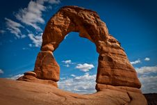 Free Delicate Arch Royalty Free Stock Image - 14937146