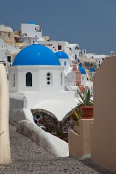 Free Santorini Royalty Free Stock Photography - 14937737
