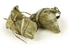 Chinese Rice Dumplings Stock Photos