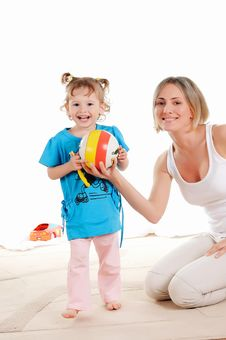 Free Mother And Her Young Daughter Stock Photos - 14938003