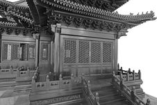 Free China Classical Architecture Royalty Free Stock Photo - 14938025