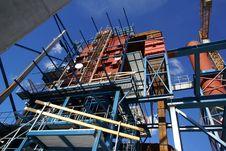 Free Crane Beams Construction Industrial Factory Stock Photos - 14938383