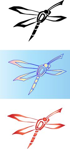Free Dragonfly3 Stock Photography - 14938662