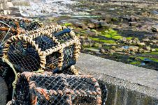 Free Crab Traps Stock Photography - 14939462
