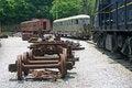 Free Train Maintenance Yard Royalty Free Stock Photo - 14943085
