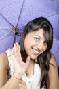 Free Umbrella Girl Stock Photography - 14947772