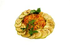 Free Dish Zucchini Royalty Free Stock Images - 14940069