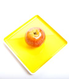 Free Diet With An Apple Stock Photography - 14940372
