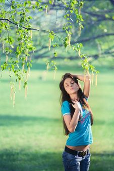 Free Enjoying The Spring Stock Photography - 14940442