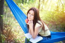 Free Relaxing In A Hammock Royalty Free Stock Images - 14940609
