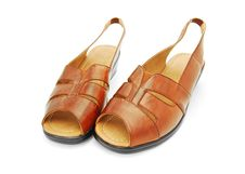 Free Leather Sandals Stock Images - 14940664