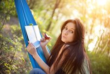 Free Relaxing In A Hammock Stock Photography - 14940742