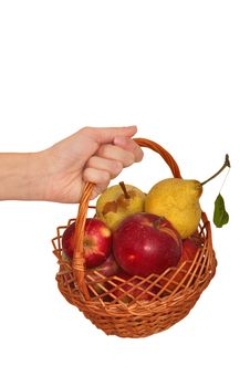 Free Fruit Basket Royalty Free Stock Photos - 14940748