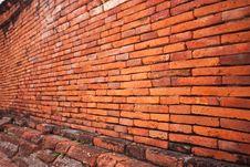Free Brick Wall Royalty Free Stock Photography - 14941047