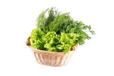 Free Vegetables In Basket Stock Images - 14941124