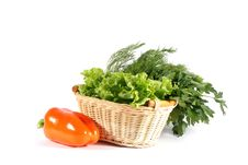 Free Vegetables In Basket Stock Photos - 14941143