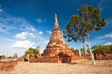 Free Ancient Pagoda Royalty Free Stock Image - 14941196
