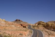 Free Desert Road Stock Photography - 14941692