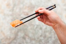 Free Salmon Sushi Stock Photography - 14942032